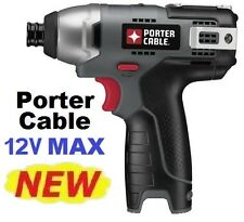 Porter-Cable PCL120ID 12V 12 Volt MAX Cordless Lithium Impact Driver (Bare Tool)