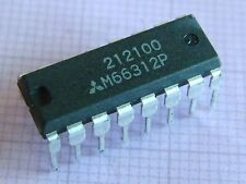 M66312p 8-bit LED driver with shift register, MITSUBISHI