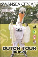 2002  SWANSEA CITY DUTCH TOUR PROG  ADO DEN HAAG KORTRI