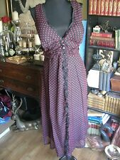 NWT Jonathan Martin Dress Black Red Wash Silk! Valentines Day 18 W FREE SHIP!