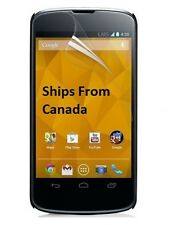 3 X Ultra Clear Front Screen Protector Cover for LG Google Nexus 4 E960 Canada