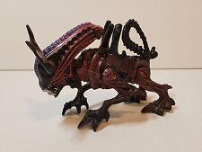 """Vtg 1992 Kenner Bull Cow Alien Monster Xenomorph Action Figure Blue Toy Doll 6"""""""