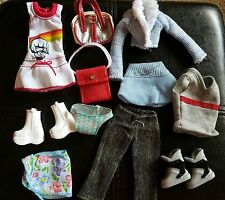 Fashion Barbie Doll Clothes - My Scene Barbie Doll Clothes Lot