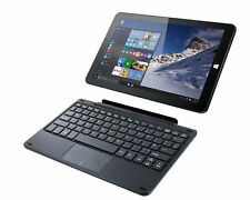 "Linx 1010B 10.1"" 2 in 1 Tablet with Keyboard Intel Atom 2GB RAM 32GB, Windows 10"