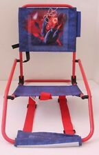Disney Marvel Spiderman Kids Folding Arm Beach Camping Lawn Patio Bag Chair NWT
