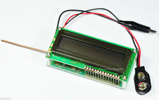 0Hz to 50Mhz Frequency Counter Module Kit With LCD display Automatic Ranges 9VDC