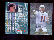 1997 CE Collectors Edge Masters DREW BLEDSOE New England Patriots Card