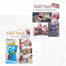 Half Yard Kids and Half Yard Heaven 2 Books Collection Set By Debbie Shore [NEW]