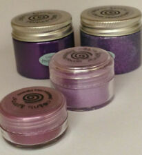 COSMIC SHIMMER set DECADENT GRAPE sparkle, texture paste, mica, embossing powder