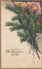 Weihnachten, tannenzweige, Blumen, 1919