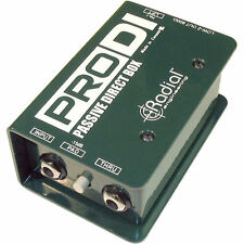Radial Engineering ProDI - Single Channel Passive Direct Box NEW 2-DAY DELIVERY!
