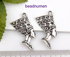 15pcs zinc alloy Egypt Queen pendants 40x20mm 1A1777