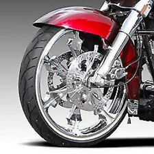 """VEE RUBBER 21"""" WHITE WALL FRONT TIRE 120/70-21 HARLEY FLHX STREET GLIDE TOURING"""