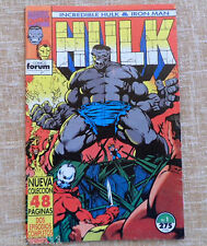 Comic, Increíble Hulk & Iron Man, nº 1, Vol. I, Marvel, Forum, Peter David, 1993