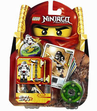 NEW LEGO NINJAGO WYPLASH SPINNER SET 2175 minifig battle cards Skulkin General