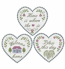 25 New Wallies Home is Where the Heart is Bless This House Welcome Deco Stickers