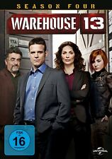 WAREHOUSE 13-SEASON 4 (EDDIE MCCLINTOCK/JOANNE KELLY/SAUL RUBINEK) 5 DVD NEU