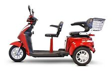 EWheels EW-66 Two Passenger Mobility Scooter - Red