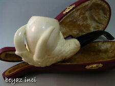 VINTAGE EAGLE CLAW MEERSCHAUM SMOKING PIPE PFEIFE PIPA