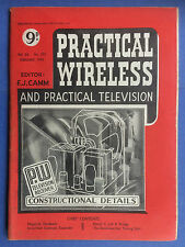 PRACTICAL WIRELESS - Magazine - February 1950 - P.W. Television Receiver Details