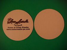 Beer Coaster ~  ~ Sam Snead's Tavern    Home Of Great Steak  *  Orlando, FLORIDA