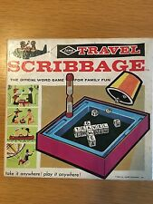 Vintage 1965 Travel Scribbage From The E.S. Lowe Company