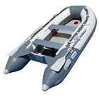 9.8 ft Inflatable Boat Dinghy Yacht Tender Raft Pontoon With Air Floor BSD300