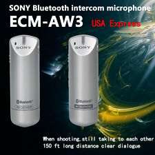 USA Express SONY ECM-AW3 Bluetooth wireless microphone 150 ft clear talk