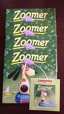 Zoomer by Ned Young New Scholastic Listening Center 4 books with CD