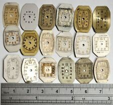 A LOT OF VINTAGE LADIES WATCH DIALS FOR PARTS ALTERED ART STEAMPUNK #186