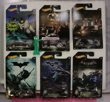 2015 Hot Wheels BATMAN 6 car set☆Classic BATMOBILE;BAT Pod✰Walmart Exclusive