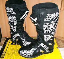ACERBIS Graffiti Cross Enduro Stiefel NEU 44 (10) Black KTM KX-F Sidi FLY SX-F