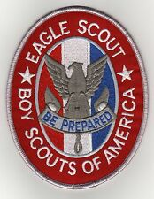 "Eagle Scout Rank Jacket Patch w/ ""Since 1910"" Slogan Backing, Mint!"