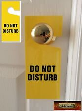 "M00344 MOREZMORE 1 Plastic ""Do Not Disturb"" Sign Door Hanger Hotel Style T20"