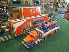 LIONEL MODERN TMT-18410 FLATBED TRUCK WITH 3-DOME TANK CAR NEW IN ORIGINAL BOX