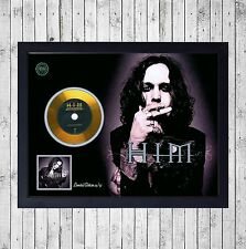 HIM DEEP SHADOWS BRILLANT CUADRO CON GOLD O PLATINUM CD EDICION LIMITADA. FRAMED