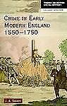 Crime in Early Modern England, 1550-1750 by J. A. Sharpe (1998, Paperback,...