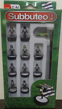 Subbuteo table football ~ noir rayure blanche équipe ~ newcastle united paul lamond
