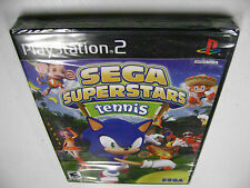 SEGA Superstars Tennis (Sony PlayStation 2, 2008) BRAND NEW FACTORY SEALED