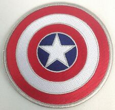 Marvel Captain America's Shield Movie and Comic Book Series Iron-On Patch