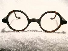 """FAUX TORTOISE RARE 1920'S ROUND  FRAME """"HAROLD LLOYD""""  STYLE  NEW & NEVER SOLD!!"""