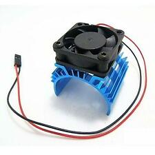 Aluminum Heat sink & 5V Cooling Fan for 1/10 RC Car 540 550 3650 Size Motor