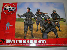 Airfix A01757 - WWII Italian Infantry  1:72 Plastic Figures Model Kit-Wargaming