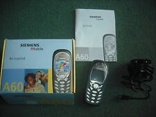 Siemens A60 Mobile Phone - complete package for sale