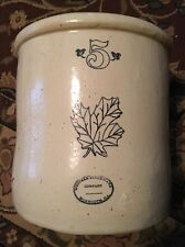 Early Western stoneware #5  Illinois Monmouth crock
