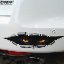 Hot Car Vehicle Funny Black Peeking Monster Reflective Graphics Sticker Decals