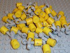 LEGO® Technik Kolben gelb mit Pleuel hell grau 50 Stück 2852 2851 NEUWARE
