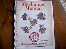 Continental motors mechanics manual David Bradley and others book # 14
