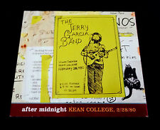 Jerry Garcia Band After Midnight Kean College NJ 2/28/1980 3 CD Grateful Dead