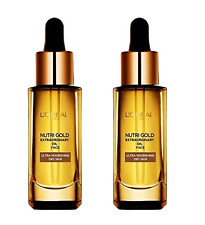 Loreal Nutri Gold Extraordinary Oil Face, Ultra Nourishing, 1 oz (2 Pack)